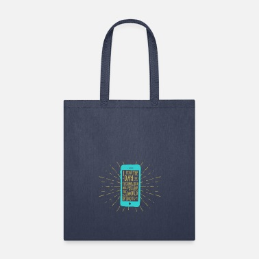 Mobile Phone Generation mobile phone - Tote Bag
