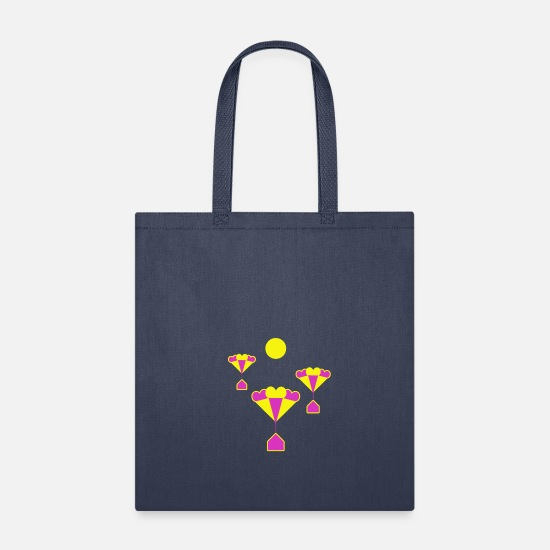 Skies Bags & Backpacks - Balloons - Tote Bag navy