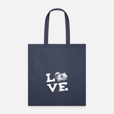 Rodent Chinchilla Rodent Love Gift - Tote Bag