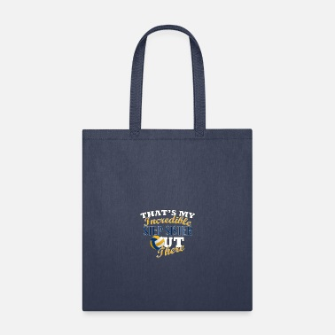 Step Brothers Volleyball Step Sister or Brother Gift - Tote Bag