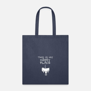 Western Riding Happy Place Western Riding - Tote Bag