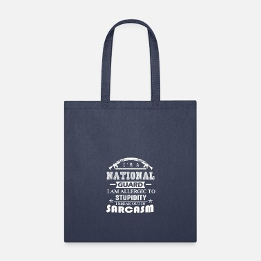 National National Guard Sarcasm Shirt - Tote Bag