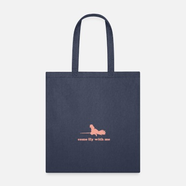 Fly T-Shirt come fly with me - Tote Bag