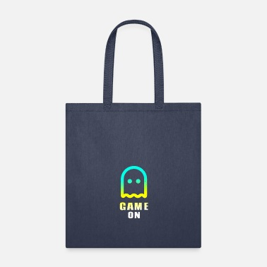 Controller Game ON ghost play gamer nerd level - Tote Bag