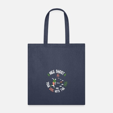 Ultimate Frisbee Disc Golf men tree throw Frolf Frisbee lovers Gift - Tote Bag