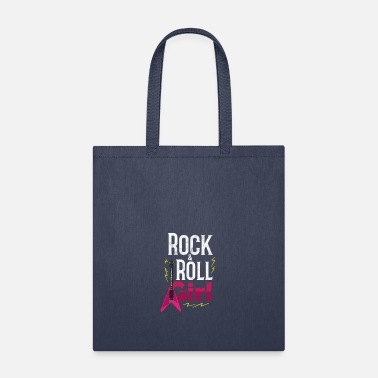 Rock N Roll rock and roll girl girlie daughter woman gift - Tote Bag
