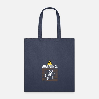 Weird warning - Tote Bag