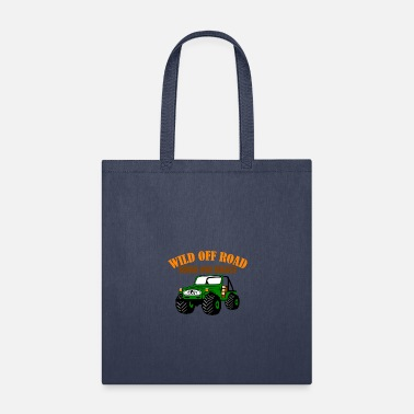 Geographic Wild off road rough and - suv forest terrain sport - Tote Bag