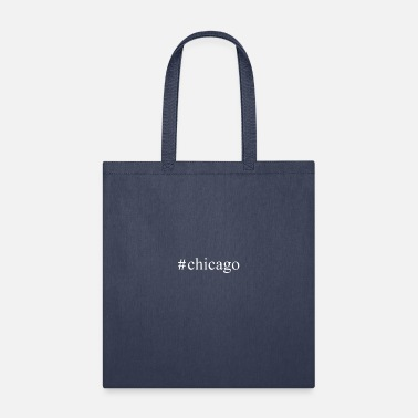Hashtag Chicago - Tote Bag