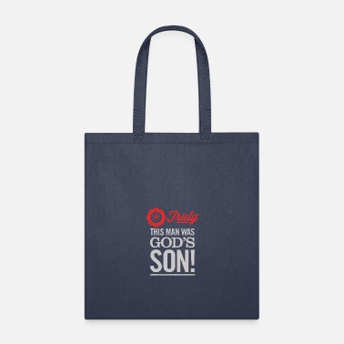 Gods Son This Man, God S Son - Tote Bag