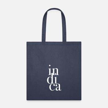 Grass Indica text weed cannabis - Tote Bag