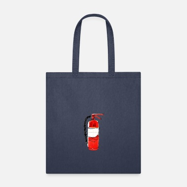Fire Graphic fire extinguisher - Tote Bag