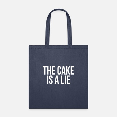 Glados The Cake Is A Lie Gaming Gamer Video Game Lover - Tote Bag