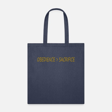 Obedience Obedience - Tote Bag