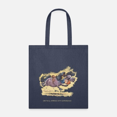 Norman Thelwell Thelwell Grip will improve - Tote Bag
