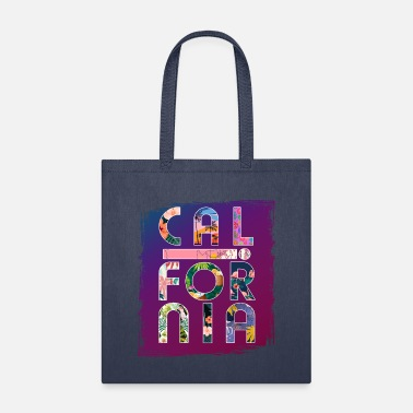 Longboard California Colorful Paradise - Tote Bag