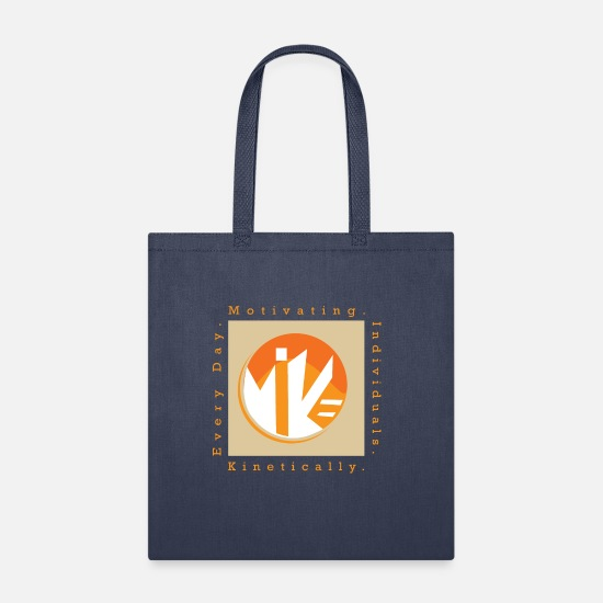 Vision Bags & Backpacks - M.I.K.E Motivating Individuals - Tote Bag navy