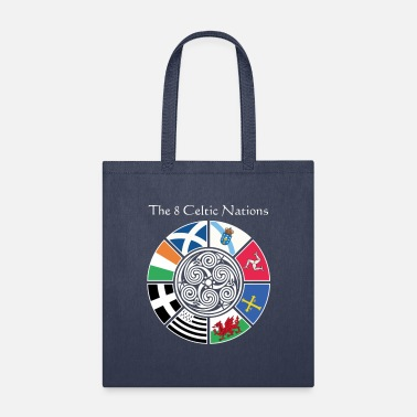 The 8 Ancient Celtic Nations Flag Design - Tote Bag