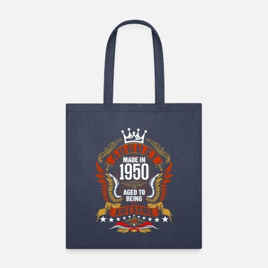 August Made In 1950 Aged To Being Awesome Tshirt - Tote Bag