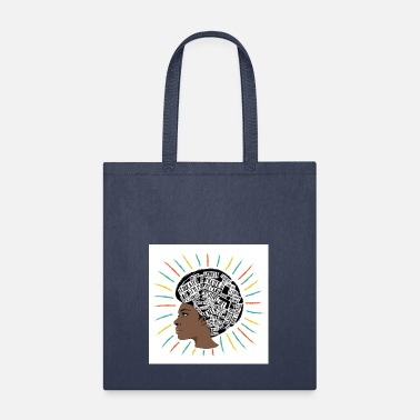 Afro AFRO Typography - Tote Bag
