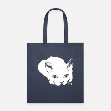 Tiger Eyes Sneaky Design by Chapy - Tote Bag