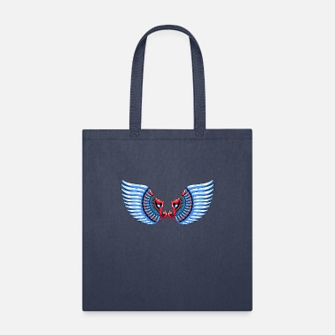 White Awesome eagle tee - Tote Bag