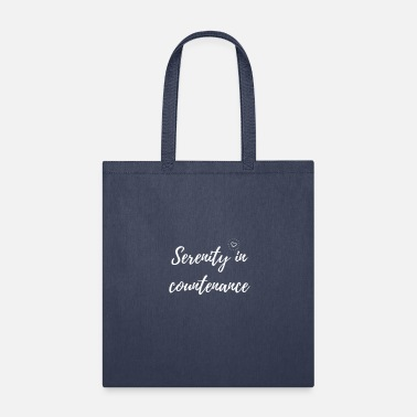 serenity in countenance - Tote Bag