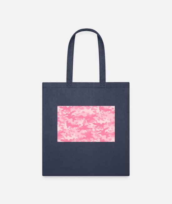 Concept Bags & Backpacks - Girly Camouflage - Tote Bag navy