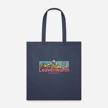 Camping Trip Vintage Leavenworth Washington Apparel - Tote Bag