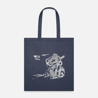 guitar player art no background - Tote Bag