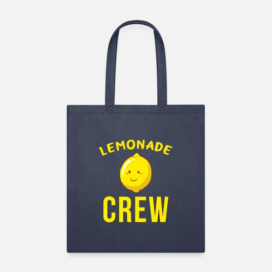 Lemonade Bags & Backpacks - Lemonade Stand - Lemonade Crew - Tote Bag navy