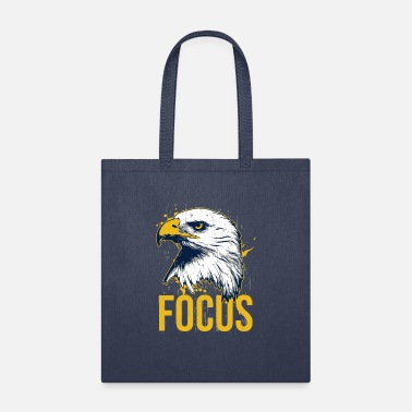 Bald Eagle Vintage Bald Eagle Focus Motivation - Tote Bag