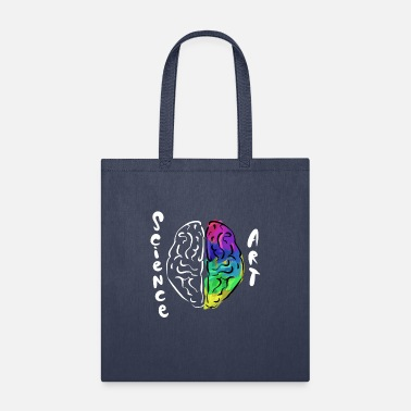 Brain Colorful Brain Science And Art Mind Abstract - Tote Bag