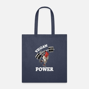 Gorilla Vegan Power Fitness Gorilla - Tote Bag