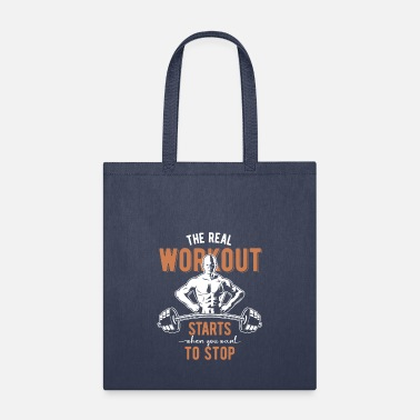 Workout The Real Workout - Tote Bag
