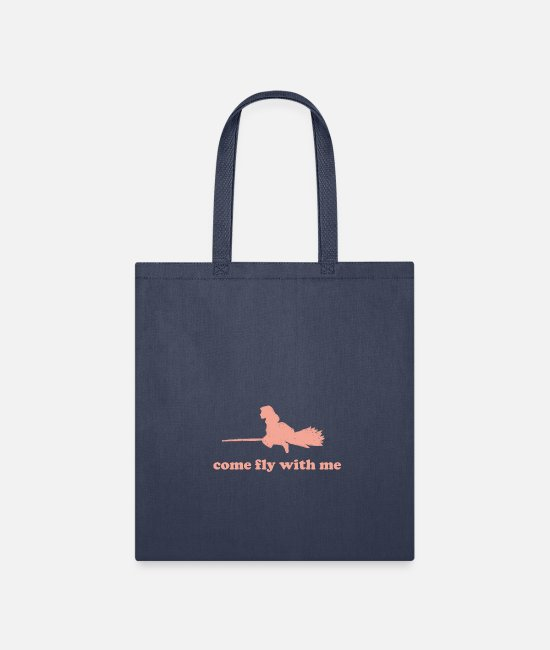 Fly Bags & Backpacks - T-Shirt come fly with me - Tote Bag navy