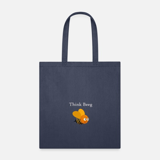Country Bags & Backpacks - think beeg - Tote Bag navy