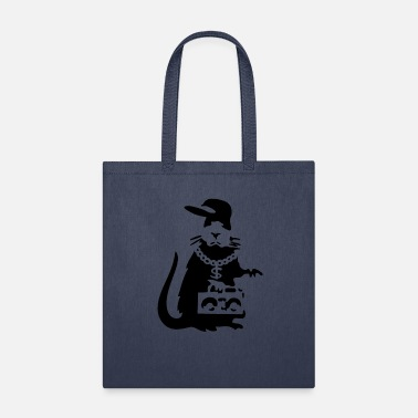 Banksy Gangster Rat Rapper Banksy Gangster Rat Rapper - Tote Bag