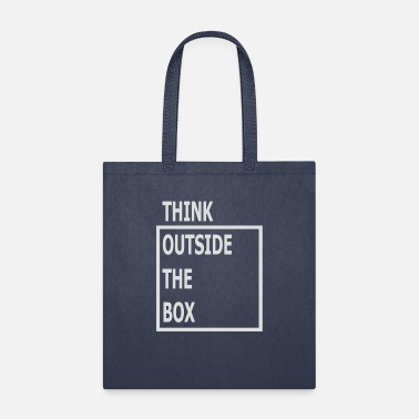 Think Think Outside The Box - Tote Bag