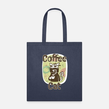 Coffee Cat Final - Tote Bag