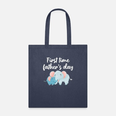 First First Time Father's Day - Tote Bag