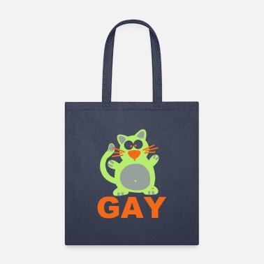 Rainbow Unicorn Gay Homo Lesbian Pride Lgbt Statement Fun CSD - Tote Bag