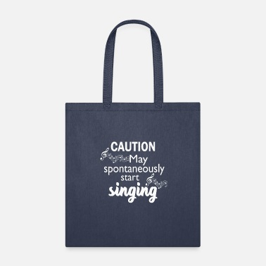 Start Funny Music Lover Gift Love Sing Caution - Tote Bag