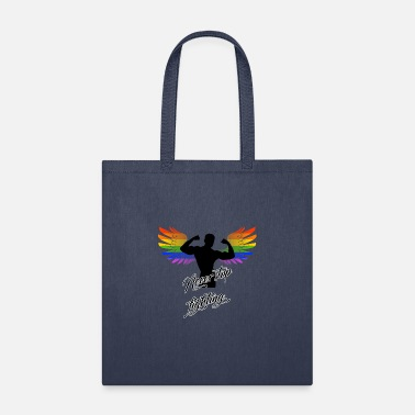 Never Stop Fighting LGBT Angel Never stop fighting Gay Pride Wings - Tote Bag