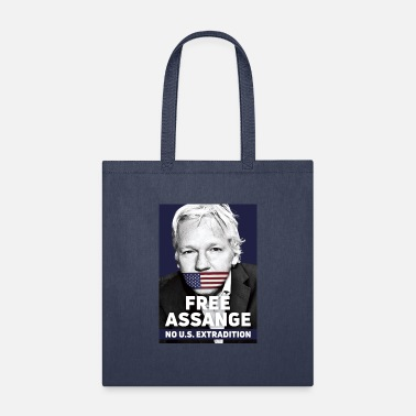Assange Case Free Assange - No US extradition - Tote Bag
