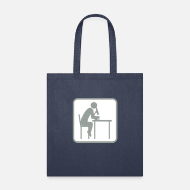 Research researcher button microscope researcher research l - Tote Bag