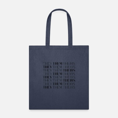 They/Them/Theirs Nonbinary - Tote Bag