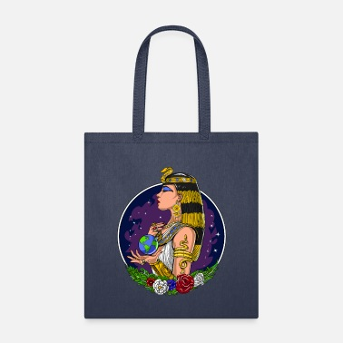 Mythological Cleopatra Ancient Egyptian Queen - Tote Bag