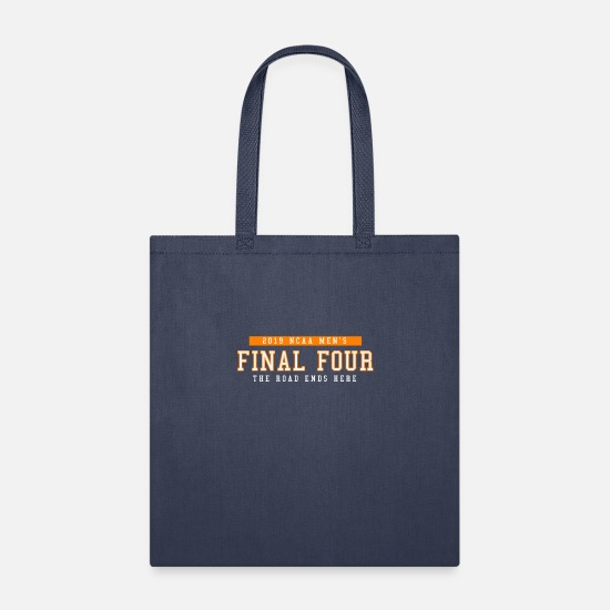 Fourleaf Clover Bags & Backpacks - Final Four Shirt - Tote Bag navy