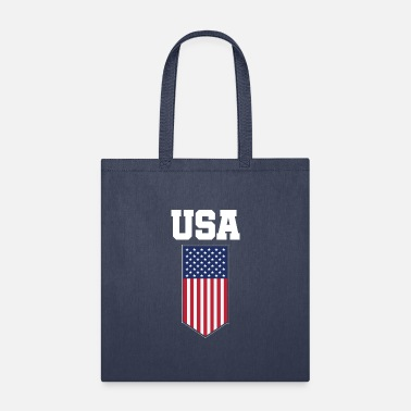 Click USA FLAG T SHIRT - Tote Bag